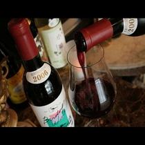 国内の良質なワインを多数取り揃えております。