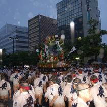 博多祇園山笠 700年以上の伝統のある祭です。