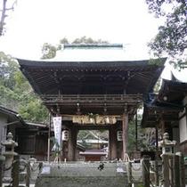 志賀海神社 三大海神の一つ綿津見神を祀り、「龍の都」、「海神の総本社」とも呼ばれ、海上安全の神として