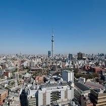 新・東京スカイツリー(R)眺望