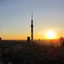 東京スカイツリービュー初日の出