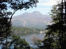像の小道から妙高山