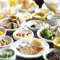 ■ご朝食(和食一例)