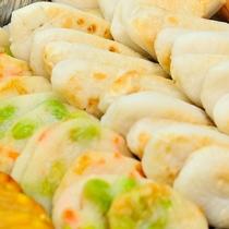 ■ご朝食・仙台名物笹かまを自慢の炙り焼でご堪能下さいませ