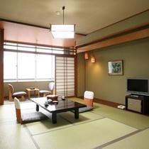 全室 標準和室(バス・ウォッシュトイレ・冷蔵庫・薄型テレビ付)※プランによる、部屋の違いはありません