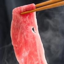 但馬牛とお野菜のしゃぶしゃぶ鍋とステーキ(サッパリポン酢とご一緒に☆)