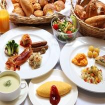 レストラン「アロマーズ」朝食ビュッフェ