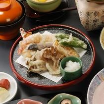 ホクホク、サクサク天ぷらと会席料理プランの天ぷら