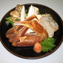 別料理 かにすき(活かに) 11月初旬〜3月下旬
