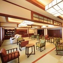 ■【宿泊者専用ラウンジ】コーヒー・お茶等のお飲物や、マッサージチェア・図書コーナーをご用意!