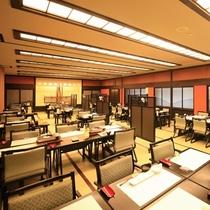 ■【レストラン太郎兵衛】落ち着いた純和風の空間です。