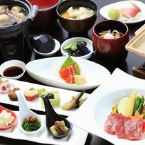 ■【ご夕食】蔵王牛陶板焼き膳 ※イメージ