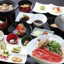 ■【ご夕食】蔵王牛しゃぶしゃぶ膳 ※イメージ