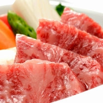 ■【ご夕食】深い味わいのブランド牛「蔵王牛」 ※イメージ