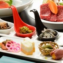 ■【ご夕食】山形の味覚満載の蔵王山懐膳 ※イメージ