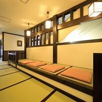 ■【廊下】館内廊下は全て畳敷きです!素足で歩く心地よさをご堪能ください。
