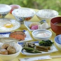 朝食バイキング(盛り付け例)