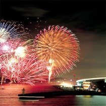 ■関門海峡花火大会■
