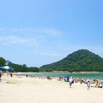 日本の快水浴場百選 菊ヶ浜海水浴場までお車で約5分♪