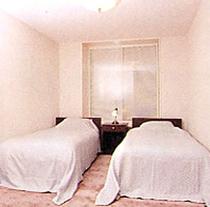 客室例:ツインルーム②