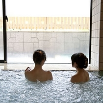 【大浴場】せせらぎの湯 ジェットバスで湯ったり