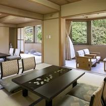 【特別室】☆雄大な谷川岳と利根川の清流を一望できるお部屋