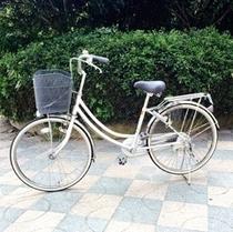 レンタサイクル10月25日まで利用可。