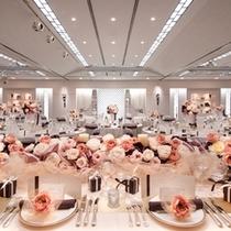 【2F披露宴会場ソレイユ】プライベート感たっぷりの結婚式を