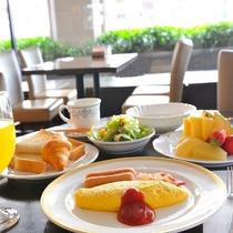 朝食バイキング 洋食例