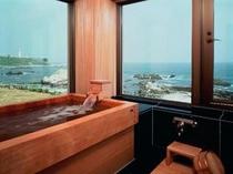 特別室ひのき風呂
