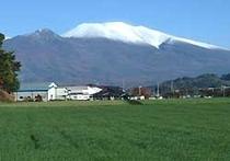 浅間山 雪