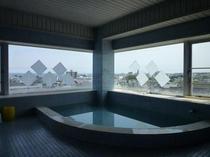 クレイン4Fの展望風呂