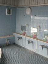 4階展望風呂の洗い場