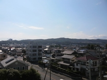 客室4F(山側)からの眺め