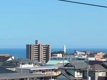 客室4F(海側)からの眺め