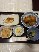 夕食の一例①