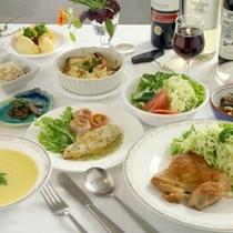 夕食の一例-パリパリチキン