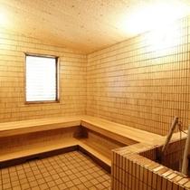 【左の湯】ラジウム蒸気風呂