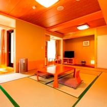 街側露天風呂付客室・和室12畳一例