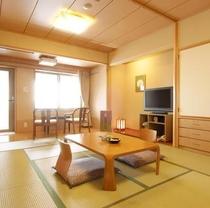 海側露天風呂付客室一例