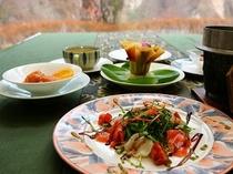 春のレディース料理