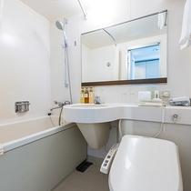 強さの調節できるシャワーヘッドと高品質のアメニティを完備しております。