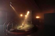 1階 祈りの湯 丸風呂1