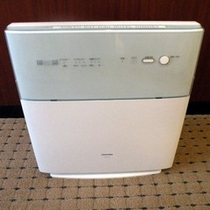 エグゼクティブツイン・DXツインは空気清浄機常備