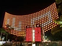 【ちょうちんまつり】日本三大火祭りの1つとしても知られる山口七夕ちょうちんまつりです!