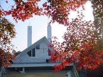 ザビエル記念聖堂(秋)