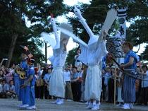山口祇園祭【鷺の舞】夏の訪れを告げる伝統あるお祭りです。