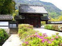 山口市・藩庁門