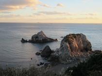 【周辺観光】伊良湖 日出の石門