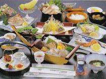 【お料理一例】岬コース